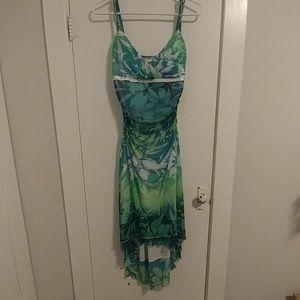 Tropical Evening Dress